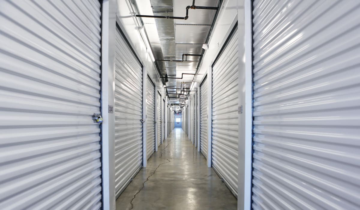 Interior units at Midgard Self Storage in Oakland, Tennessee