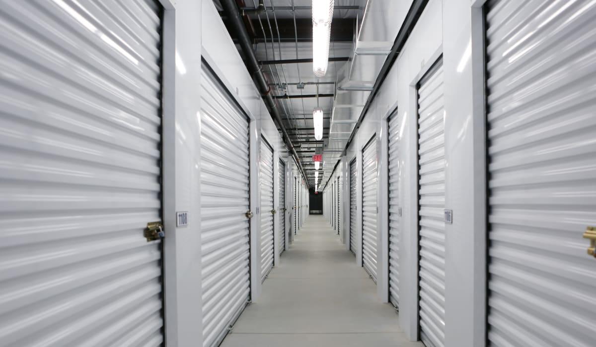 Interior units at Midgard Self Storage in Bradenton, FL