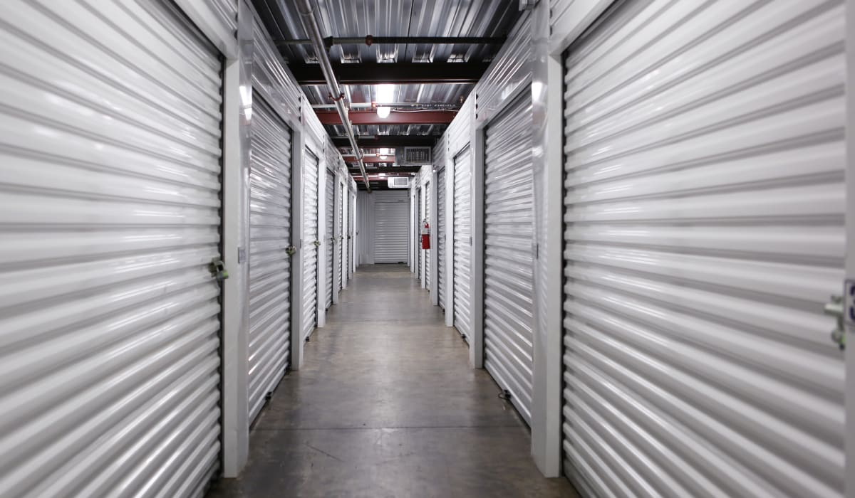 Interior units at Midgard Self Storage in Jacksonville, FL
