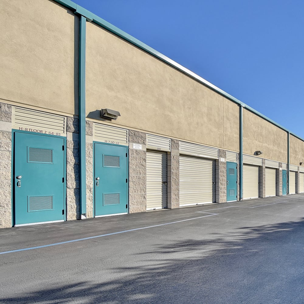 Exterior units at My Self Storage Space in Orange, California