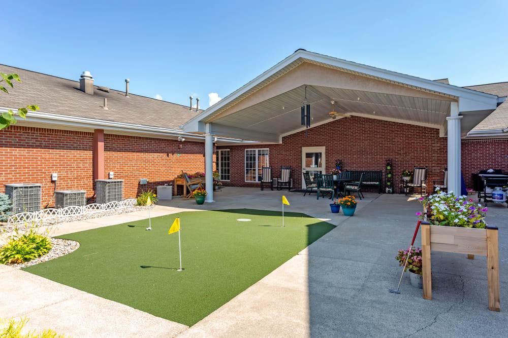 Glen Ridge Health Campus courtyard at Glen Ridge Health Campus in Louisville, Kentucky