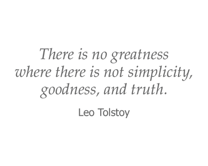 Leo Tolstoy quote for Garden Place Waterloo in Waterloo, Illinois