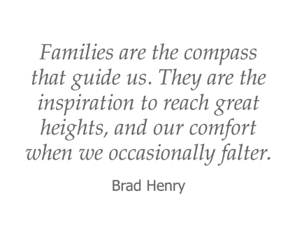 Brad Henry quote for Garden Place Waterloo in Waterloo, Illinois