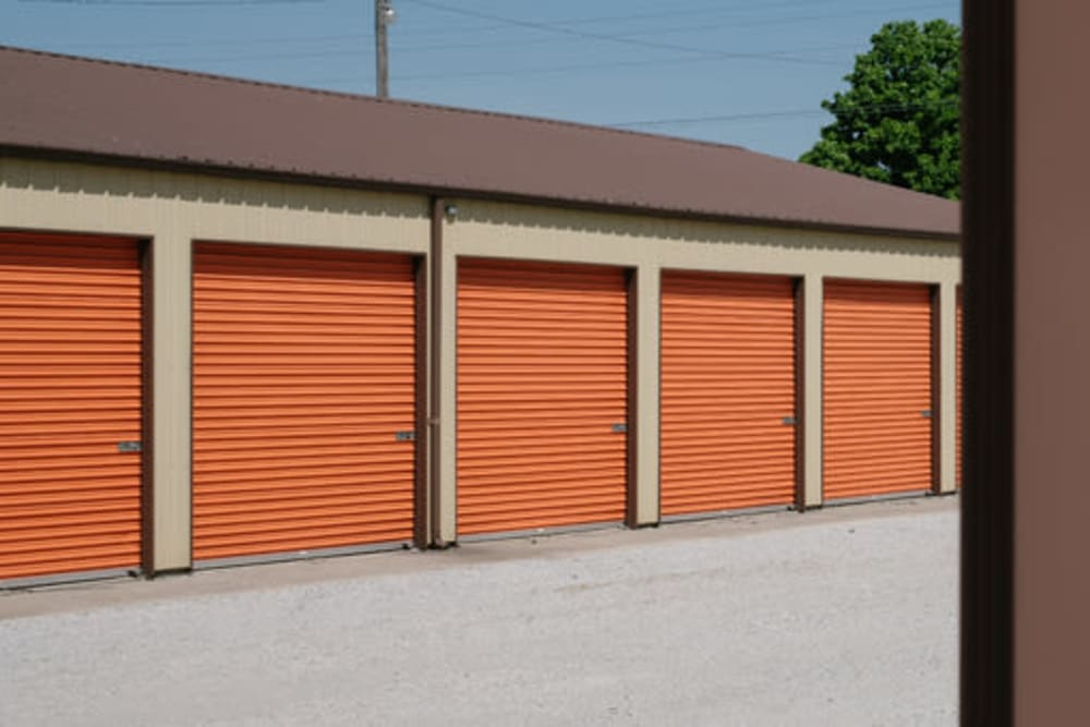Easy access self storage units at StayLock Storage in Kouts, Indiana