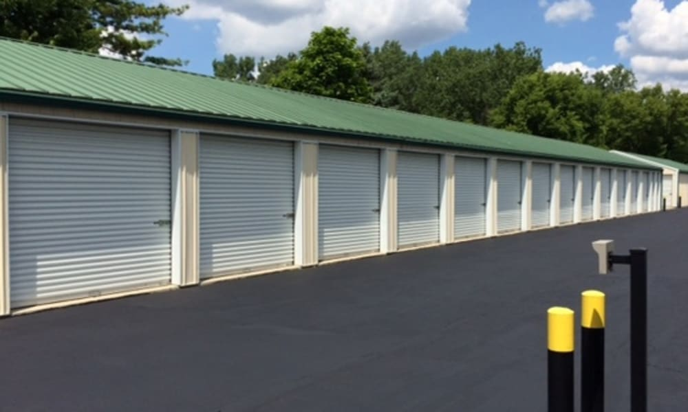 The exterior storage units offered at Wilson Road Storage in Columbus, Ohio