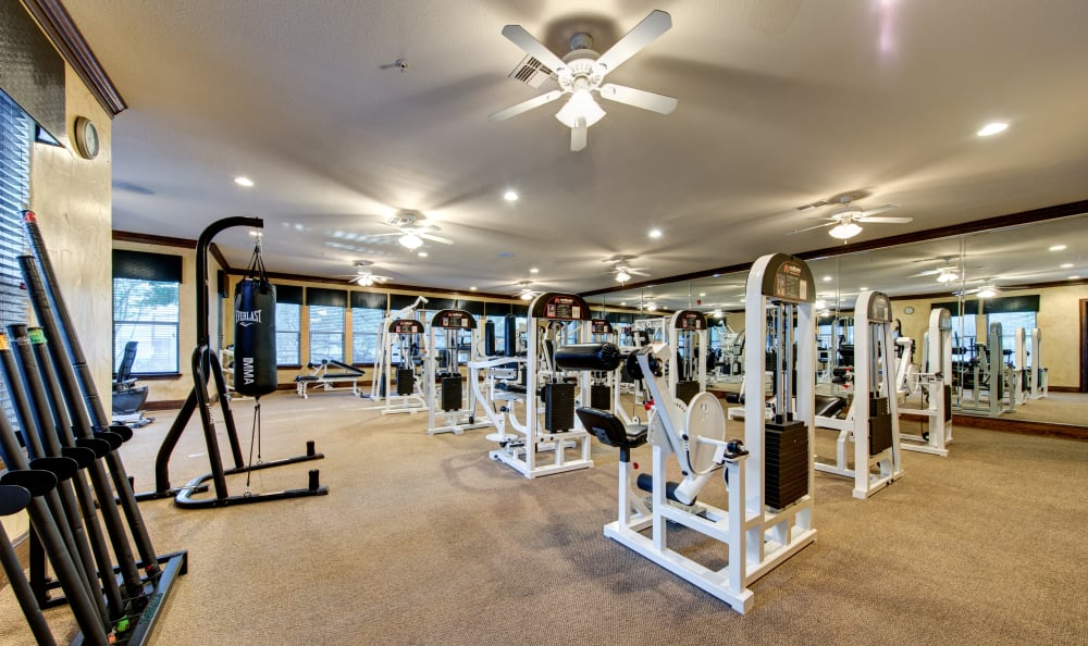 Stay healthy in our well equipped fitness center at Marquis at TPC