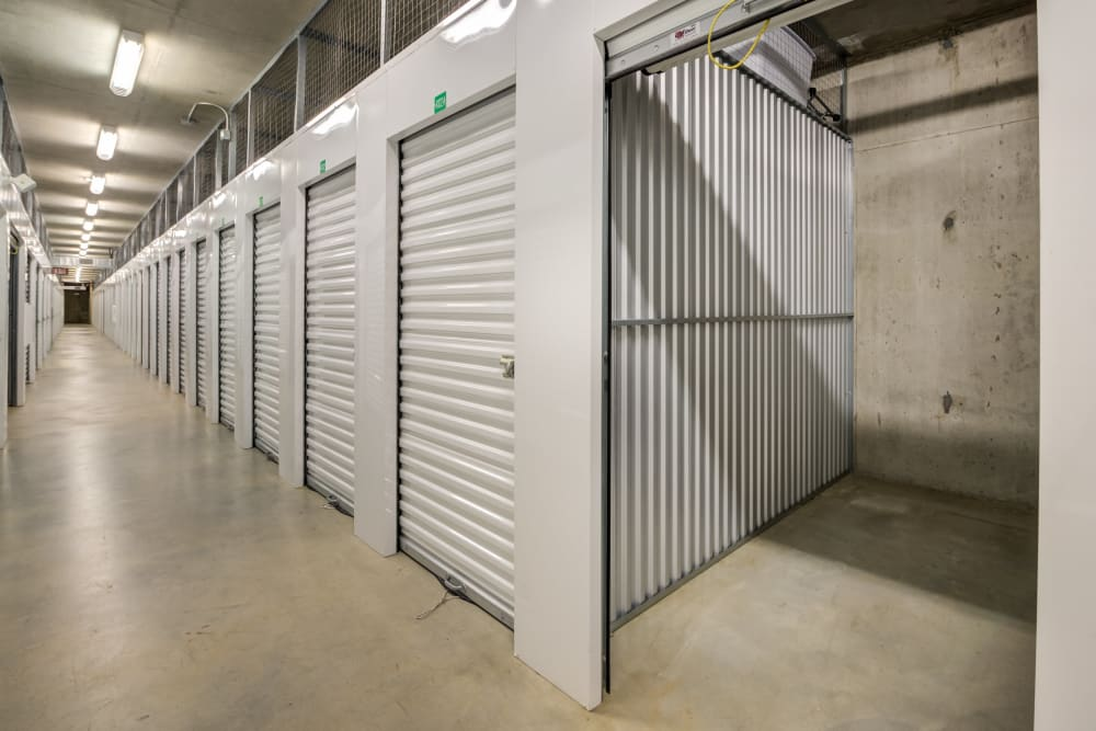 Small storage unit at Farmers Market Self Storage in Los Angeles, CA