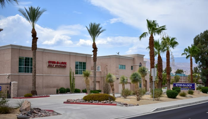 The exterior of STOR-N-LOCK Self Storage in Palm Desert, California