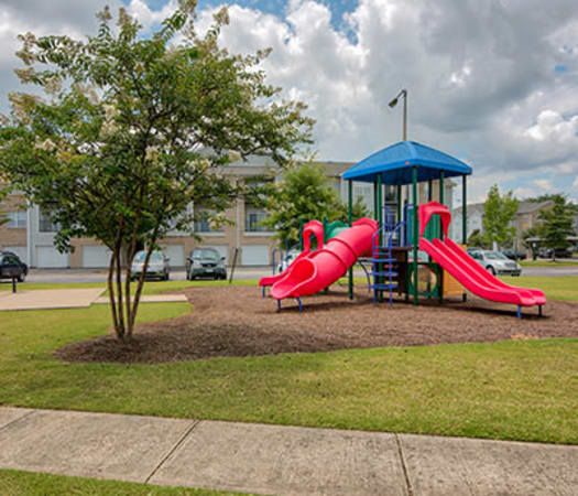 Onsite playground at Crescent at Wolfchase in Memphis, Tennessee