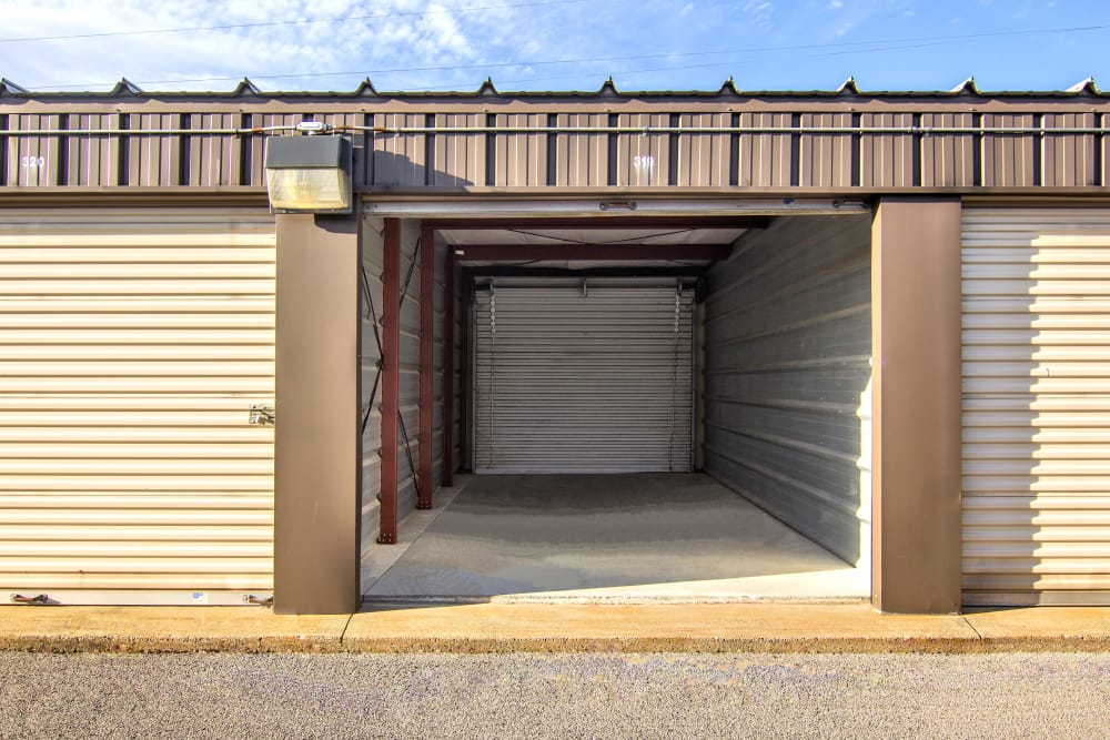 Outdoor storage unit at Prime Storage in Glenville, NY