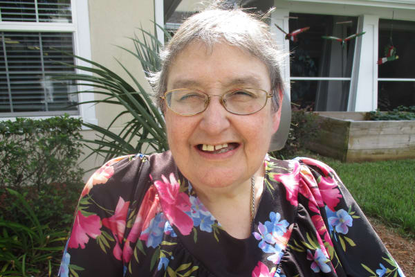 Libby Nunno at Salishan Gracious Retirement Living in Spring Hill, Florida