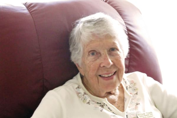 Charlotte Maurer at Willow Creek Gracious Retirement Living in Chesapeake, Virginia