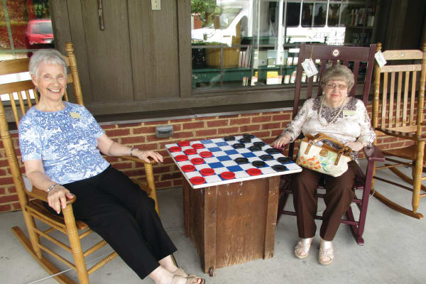 Joanne Grahame at Willow Creek Gracious Retirement Living in Chesapeake, Virginia