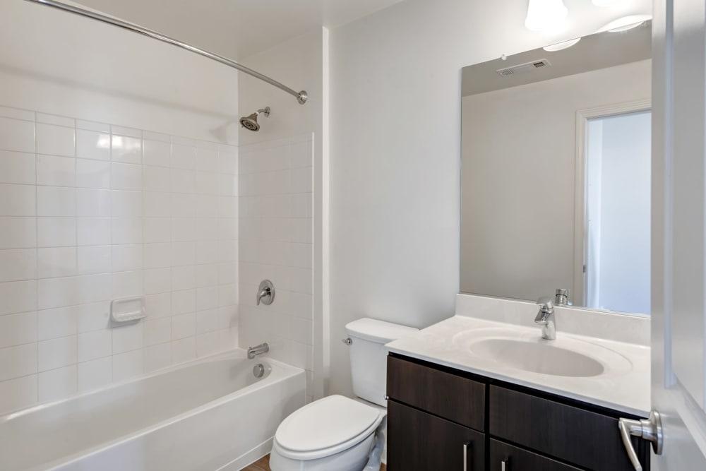Clean bathroom in Canton, Massachusetts