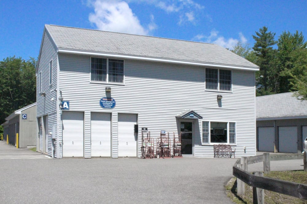 Main office at Prime Storage in Arundel, Maine