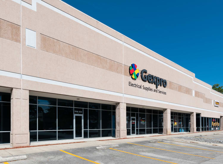 Gexpro store of Fort Family Investments's commercial property, Perimeter Commerce Park, in Jacksonville, Florida