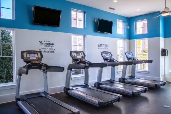 Fitness center at Berkshire Fort Mill in Fort Mill, South Carolina