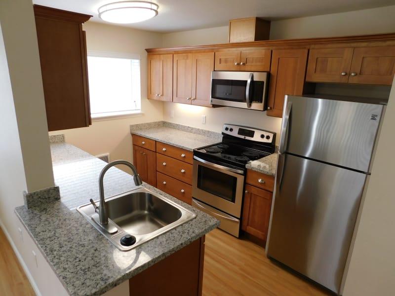Millennium Park offers a quiet kitchen in Vancouver, Washington