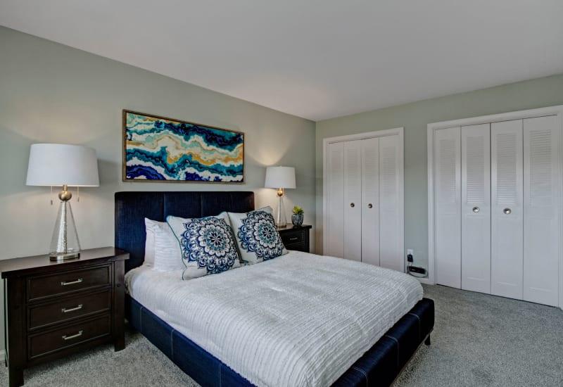 Master bedroom at Legacy at Tech Center in Newport News, Virginia