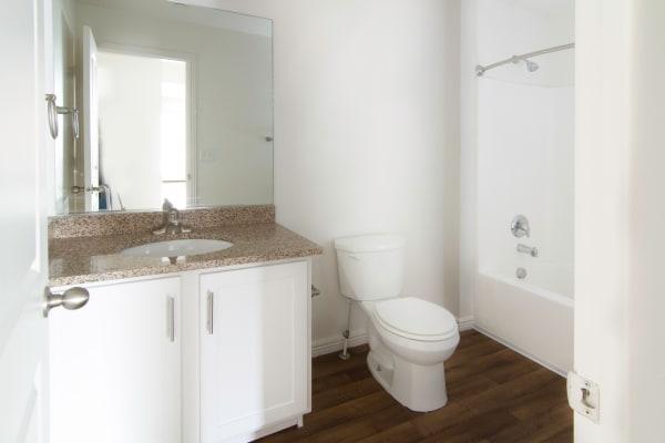 Bathroom at apartments at Ridgeview Apartments