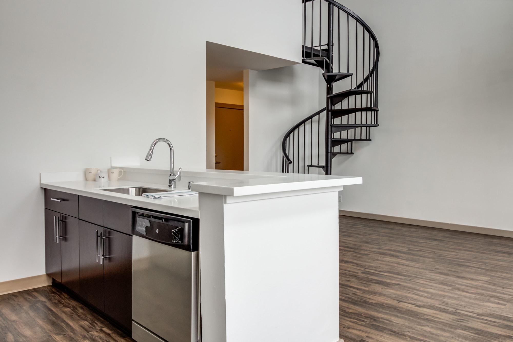 Apartment Interior Staircase