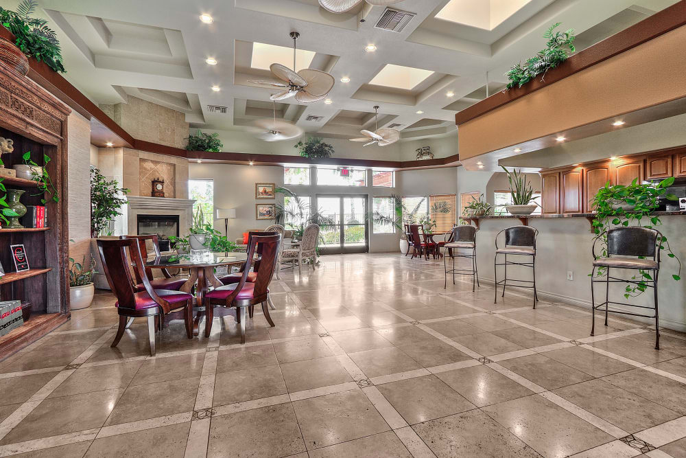 Cielo Apartment Homes offers a modern clubhouse in Henderson, Nevada
