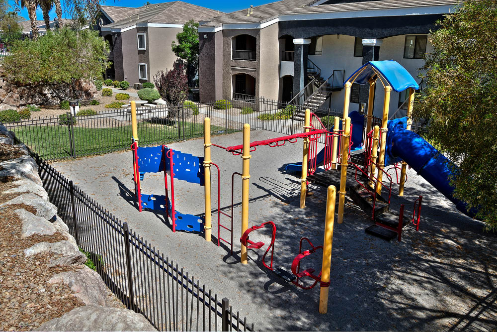 Enjoy our beautiful playground at Cielo Apartment Homes in Henderson, Nevada