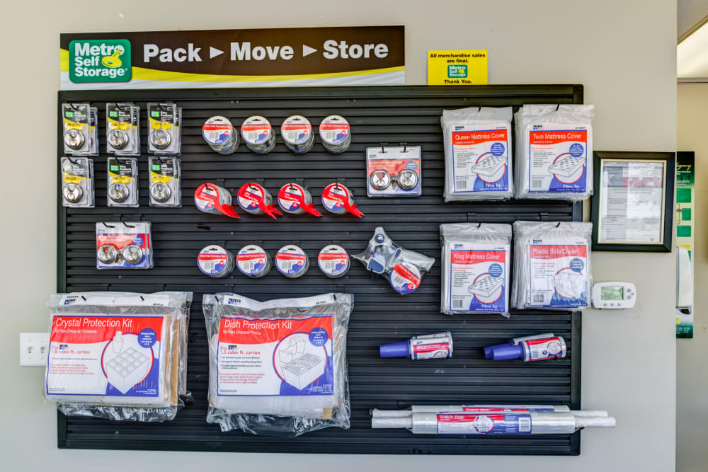 Our office in Amarillo, Texas offers packaging supplies