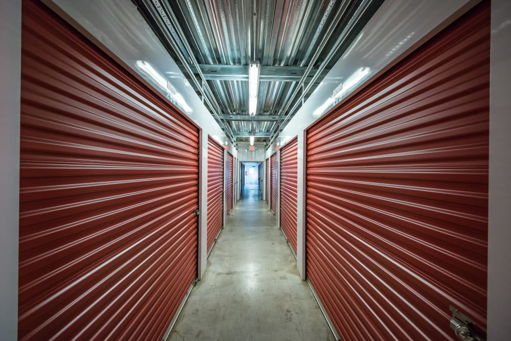 Neighborhood Storage interior storage units in Ocala