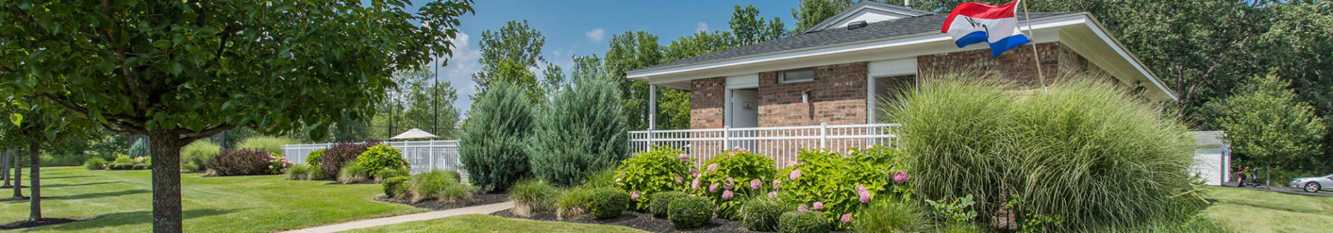 Great amenities at Willowbrooke Apartments and Townhomes