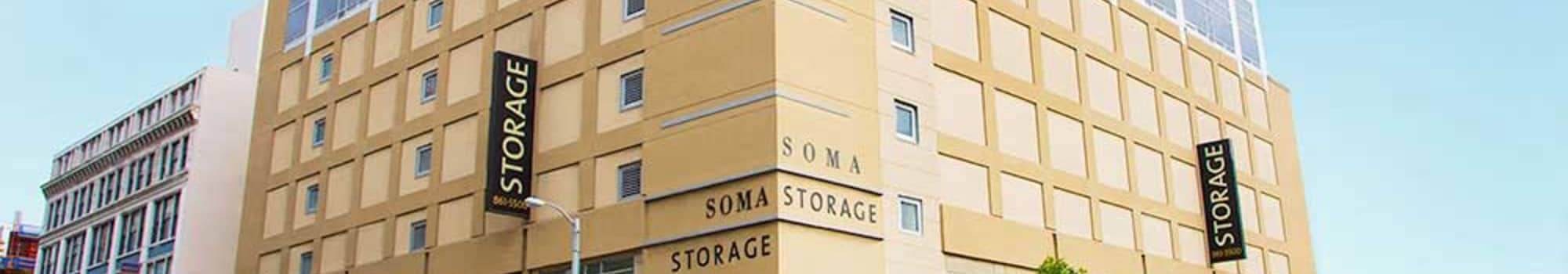 Contact us for your self storage needs in San Francisco