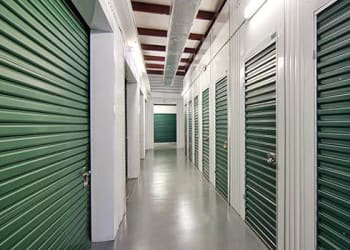Climate-controlled storage units at Metro Self Storage in Orlando, Florida