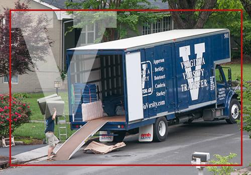 Moving at at Virginia Varsity Transfer & Storage