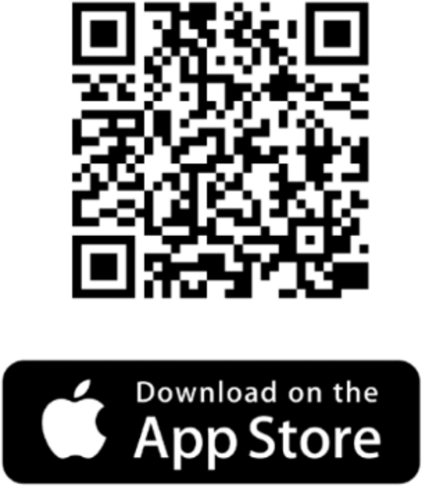 QR code for the Apple store for the doorman app at Solaire 7077 Woodmont in Bethesda, Maryland