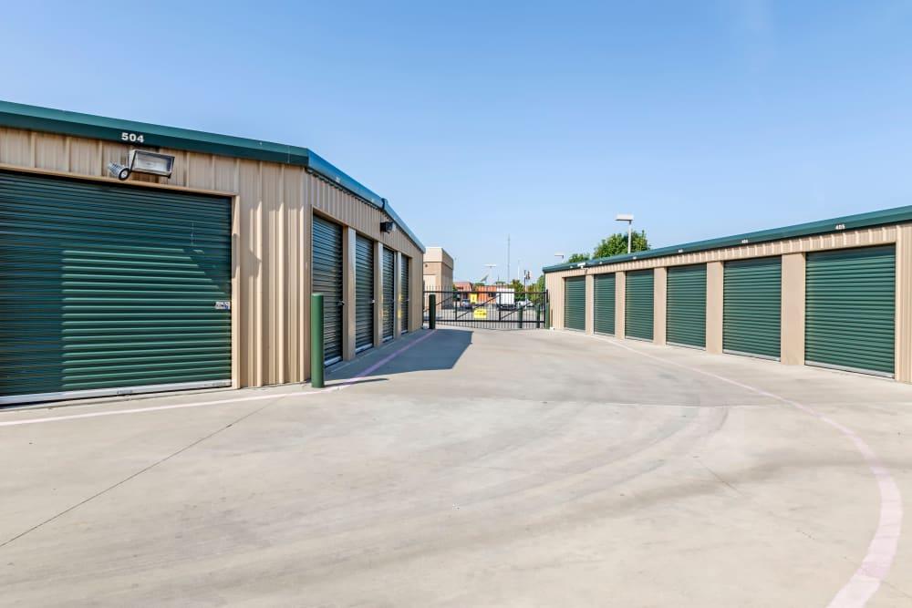 Metro Self Storage offers outdoor units in Amarillo, Texas