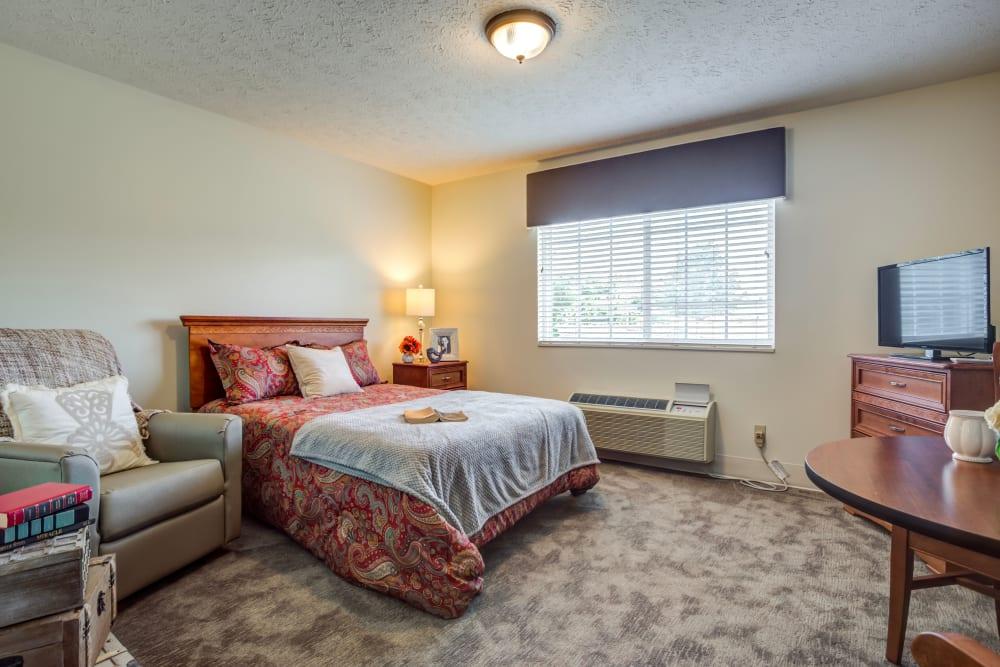 Model suite at Glen Ridge Health Campus in Louisville, Kentucky
