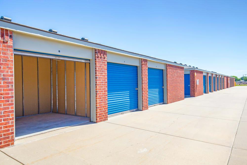 Outdoor units at Metro Self Storage in Wichita, Kansas