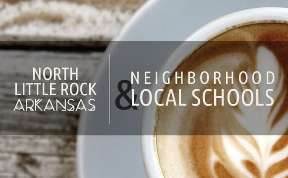 Information about the neighborhood surrounding apartments in North Little Rock, Arkansas