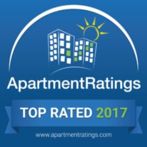 The Retreat Apartments is the 2017 Top Rated property by Apartment Ratings