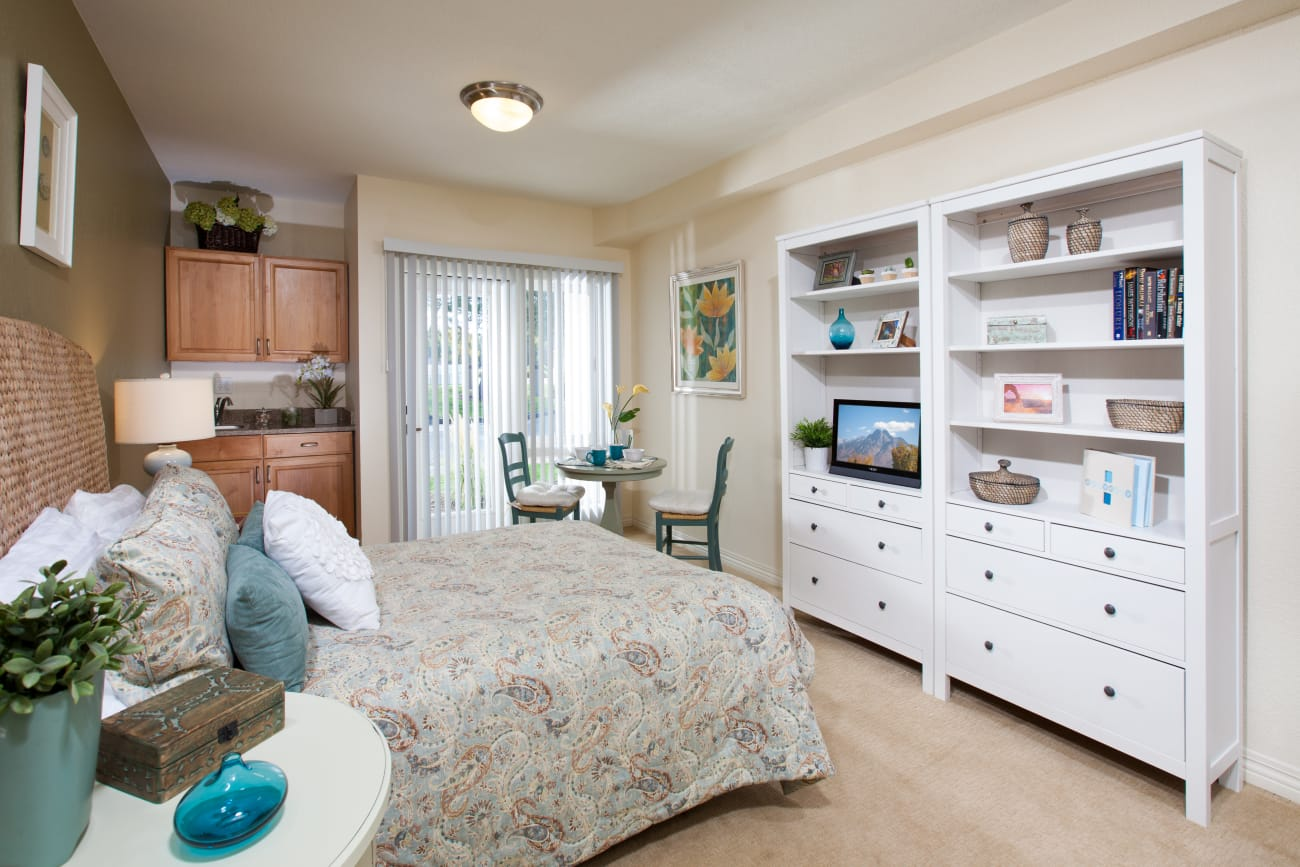 Bedroom at Cottonwood Creek in Salt Lake City, Utah