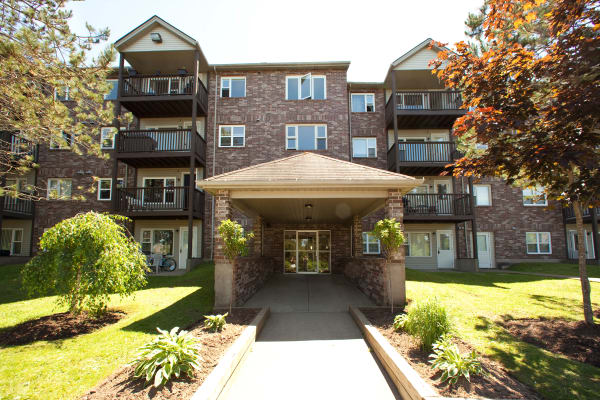 Leasing office entrance at StoneCrest Village in Halifax, NS