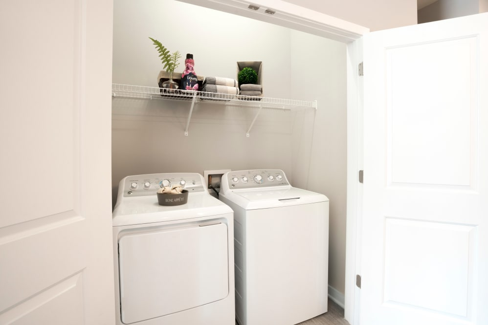 State-of-the-art washer/dryer at Alta Citizen in Newport News, Virginia