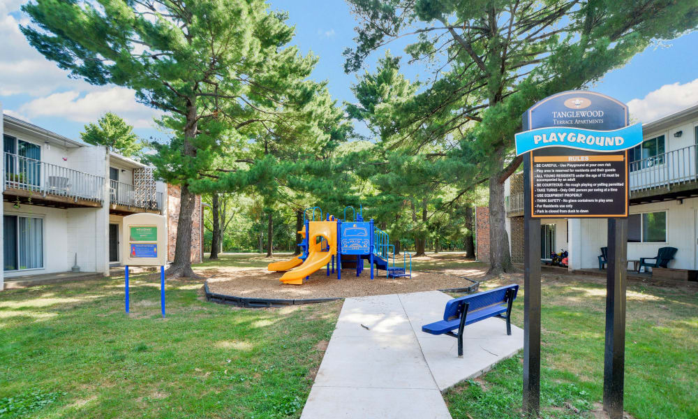Playground at Tanglewood Terrace Apartment Homes