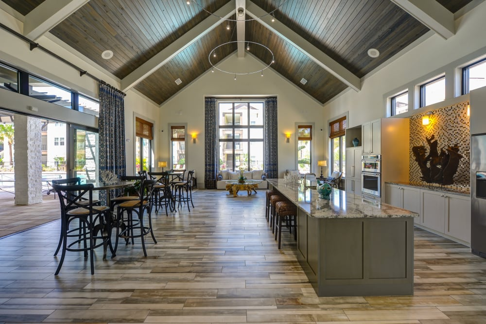 Community dining area in Jacksonville, Florida