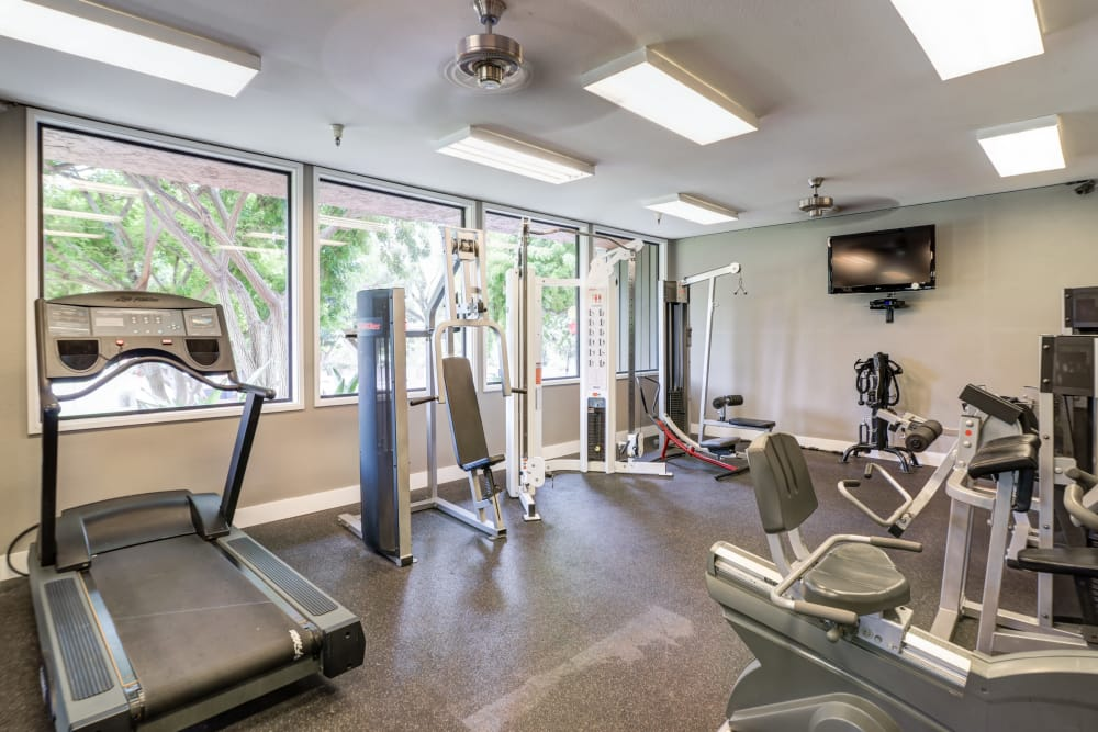 State-of-the-art fitness center at Presidio at Rancho Del Oro in Oceanside, California