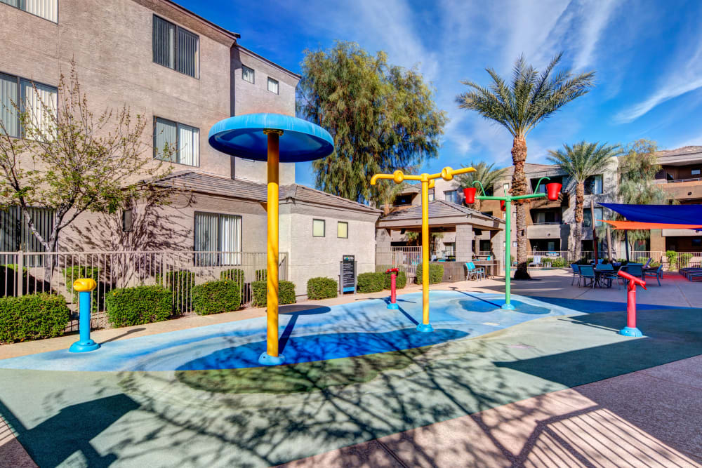 Onsite water park at Spectra on 7th South in Phoenix, Arizona