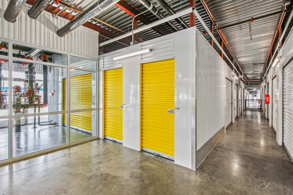 Climate controlled storage units at Storage Star Forest Lane in Dallas, Texas