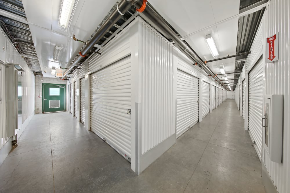 Climate controlled storage units at Market Place Self Storage in Park City, Utah
