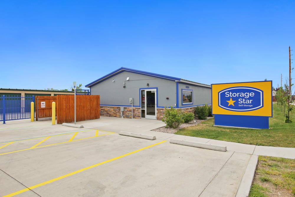 Branding and signage at Storage Star Cheyenne in Cheyenne, Wyoming