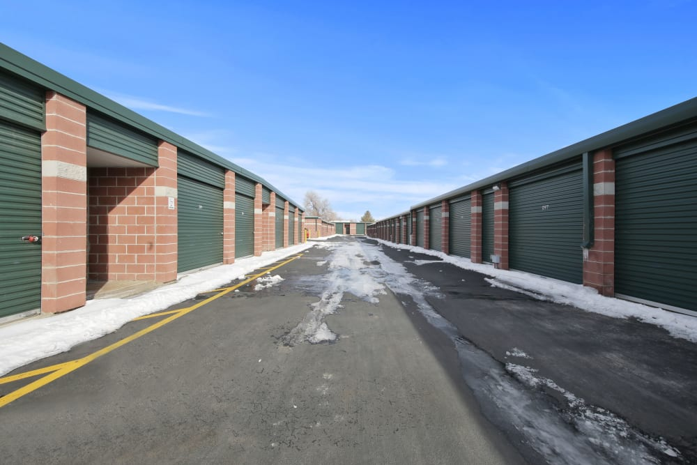 Exterior units at Storage Star Fairfield in Fairfield, California